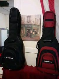 2 road runner guitar gig cases. Soft , good condition