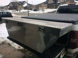 Full size truck tool box.