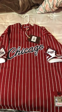 red and black Chicago Bulls jersey Rohnert Park, 94928