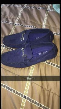 pair of blue suede UGG boots Milwaukee, 53212