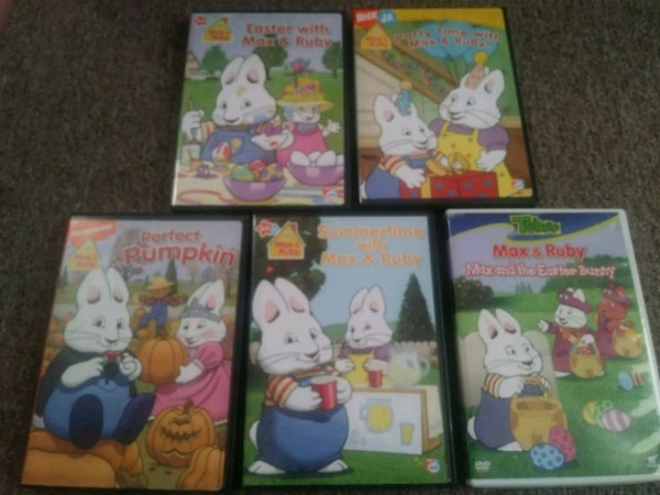 5 max and ruby dvds