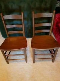 Antique Oak Chairs and table Disputanta, 23842