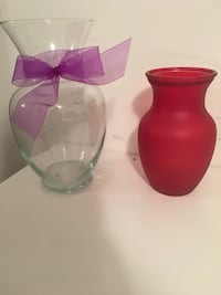 Flower vases- $10 for 2 or $5 each Sayreville, 08879