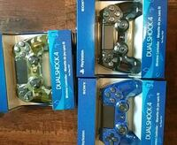 3 ps4 controllers $60 each never been opened London, N6E 3G3