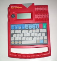 Vintage Super Speak and Spell by Texas Instruments London