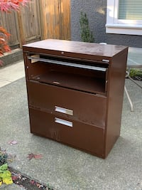 3 drawer commercial filing cabinet