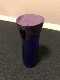 Purple Contigo coffee mug