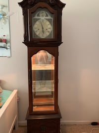 Pulaski Grandfather Clock. Eight day -Key Wind, Westminster Chime. Sterling, 20164