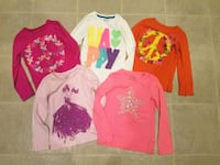 Girl's shirts.  All for $10. Size 7-8 Springfield, 22153