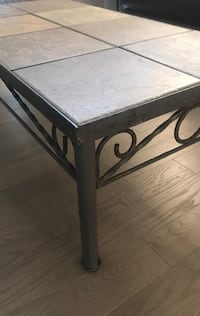 Solid Iron table with ceramic tiles Calgary, T1Y 6A9