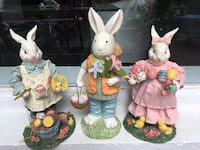 Ceramic Easter Bunnies