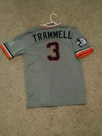 Alan trammell number retirement jersey large Lapeer, 48446
