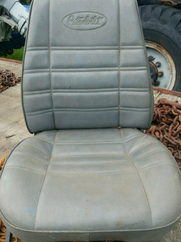 Sensational Peterbilt Leather Seat For Dump Truck Ocoug Best Dining Table And Chair Ideas Images Ocougorg