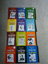 Diary of a wimpy kid books 1-12 London, N5W 6B4