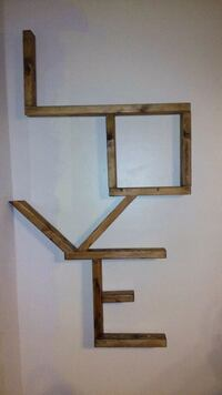 brown wooden framed wall mirror Oklahoma City, 73129
