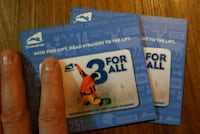 Snowshoe Resort lift tickets Alexandria, 22301