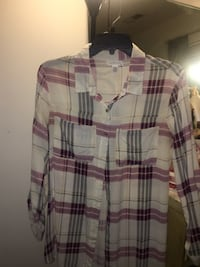 Pacsun plaid shirt HYATTSVILLE