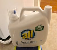 All Free and Clear Detergent 100 ounces NEW Ashburn, 20147
