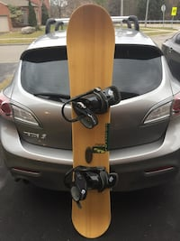 160 Burton Charger with Burton Freestyle bindings
