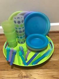 Plastic picnic set Washington, 20009