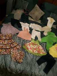 3-6months baby girl clothes 18 pieces