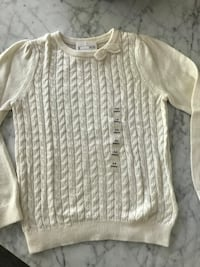white knitted scoop-neck sweater Los Angeles, 91607