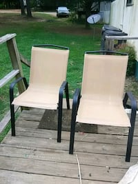 Brand new sturdy patio chairs Decatur