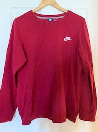 Red Nike pull over LG Calgary, T2P