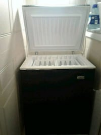 white and black compact refrigerator Dorval