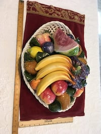 Centerpiece ceramic Fruitbowl extra large