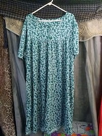 Only necessities  Green Leaf Dress  3x