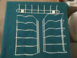 Metal plate stands and cloth hangers