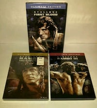 RAMBO Trilogy Ultimate Edition On DVD Chester