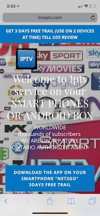 Iptv service and box available please contact 3 days free trail   Toronto, M1P 5H4