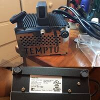 Temptu air compressor with airbrush gun Mississauga, L4W 4A5