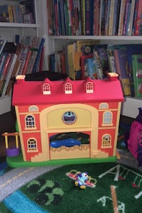 Muppet Babies toy house