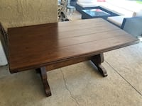 Solid Wood Dining Table Los Angeles, 91335