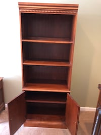 Sold Wood Room Shelf and Cabinet Gaithersburg