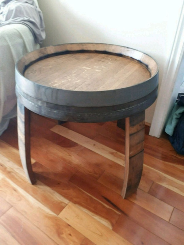 Used Wine Barrel Side Table For Sale In Oakville Letgo