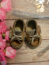 Baby sperry's size 2