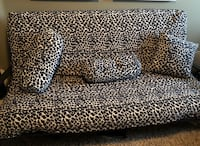 Black Futon for sale!!  In great condition!! Riverside, 92506
