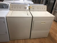 Beige Kenmore Washer and Dryer Set 47 km