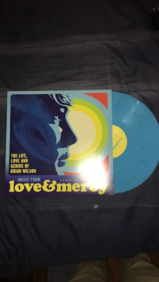 Love and mercy blue record vinyl