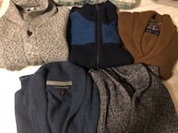 Men cardigans size M  Rockville, 20851