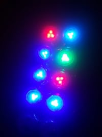 10 Led rgp (two need batteries)