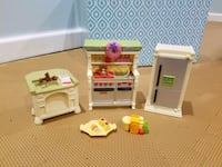 Dollhouse KITCHEN set  Gilbertsville