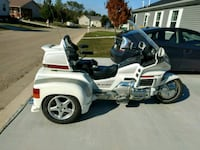 white and black touring motorcycle Germantown, 53022
