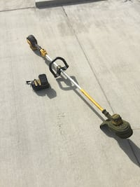 yellow and black string trimmer
