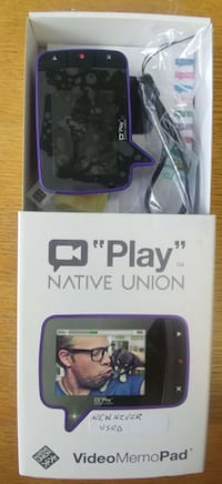 Play Video Memo Recording Device Brand New in Box w/Batteries Vancouver