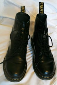 pair of black leather lace-up shoes Anaheim, 92802